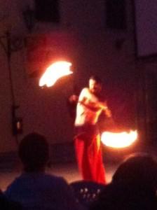Žongliranje vatrom